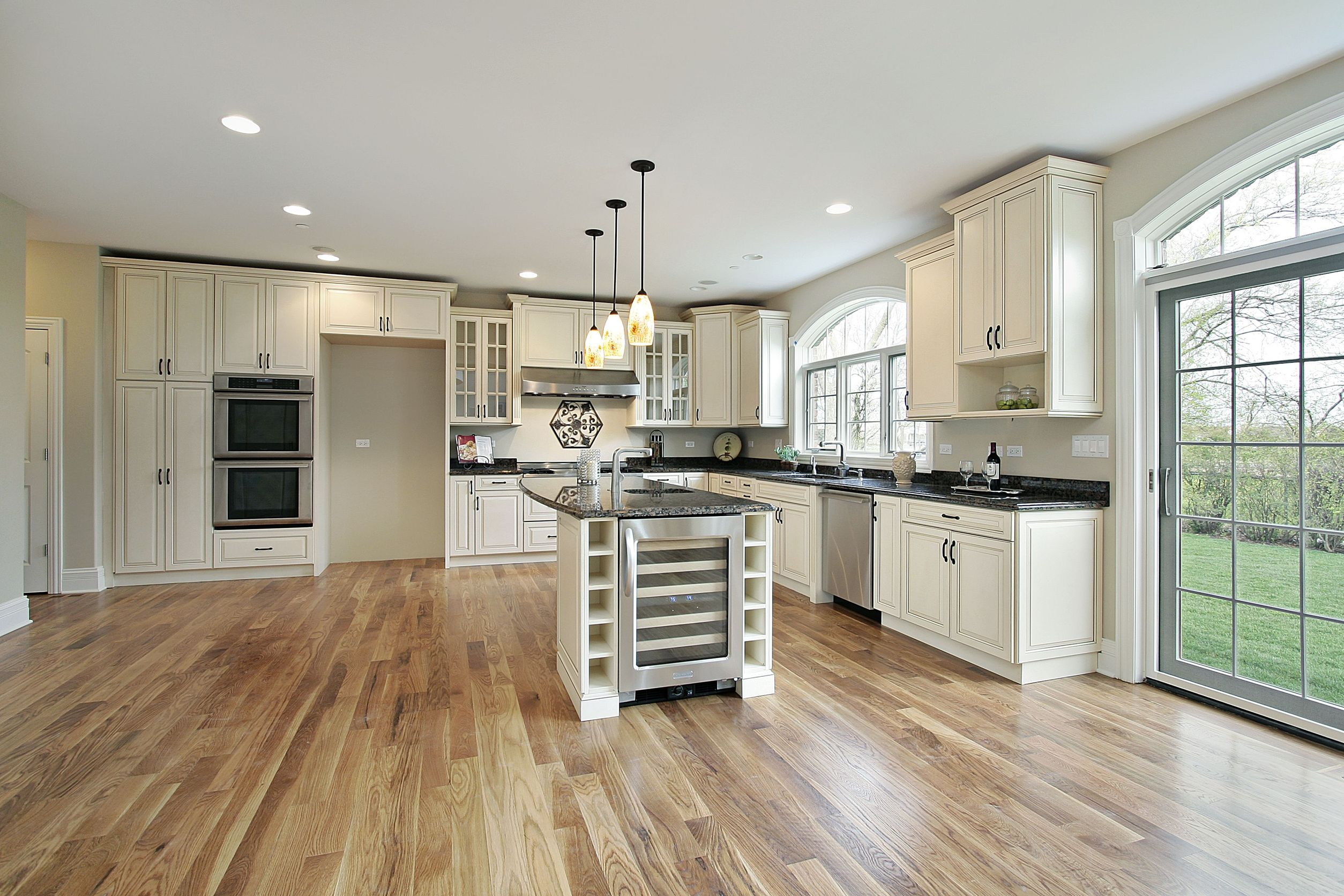 Kitchen With Engineered Hardwood